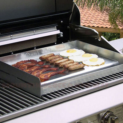Stainless BBQ Griddle Gas Burner Barbecue Grill ...