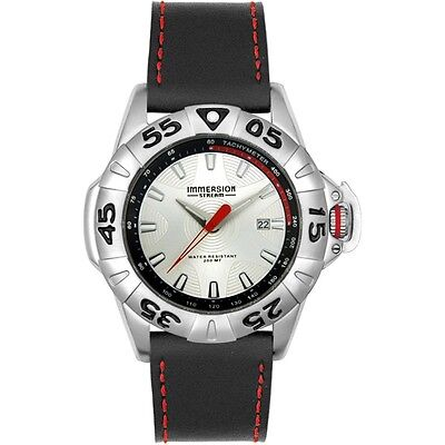 Immersion Stream Mens Silver Dial Diving Watch