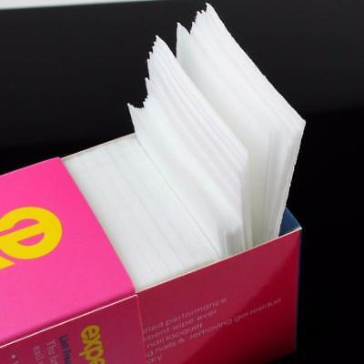 325PC Nail Art Manicure Polish Remover Cleaning Wipe Lint Free Cottons Pad Paper