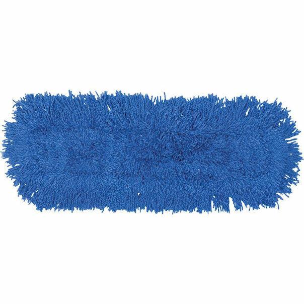 "Rubbermaid FGJ35300BL00 Dust Mop, 24"" X 5"" Blue (12 pack) New Damaged Box"