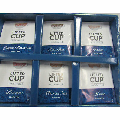 Classic Tea Bags Box - Lifted Cup Classic Tea Collection 30 Assorted Tea Bags / Box