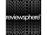 Reviewsphere - online news and reviews magazine looking for content contributors