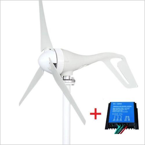 2017 New - 12V/24V 3 Blades 400W Wind Turbine Generator + 12V/24V Controller