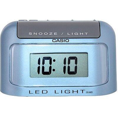 Casio DQ582D-2 Small Portable Auto Calendar Digital Travel Alarm Clock DQ-582