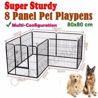 BrandNew HeavyDuty Pet Dog Playpen Exercise Fence 8Panel Enclosur Maylands Bayswater Area Preview
