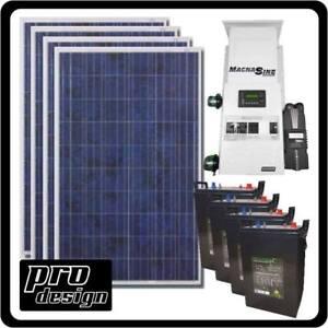 ProDesign Solar Kits Ready for Install (Calgary Location)