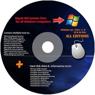 Dell Ultimate Cd Computer Repair Boot Cd For Windows 7   Vista   Xp