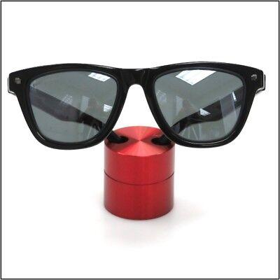 Small Premium Solid Aluminum Cylinder - Red