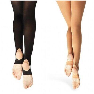Capezio Dance Ballett Fitness Shirt Tank Top Mesh Grau CA121 Gr Ballett M 36-38 NEU OVP Tanzen
