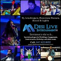 Bollywood, Pakistani & Punjabi Entertainment for your Events