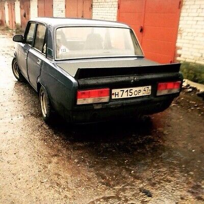 Rear Trunk Spoiler for LADA 2105 2107 Nova Riva VFTS style