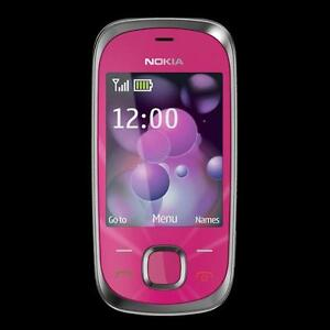 Nokia 7230 New-Pink for Bell