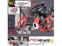 NEW Rc Logger Drone RC EYE Navigator 250 FPV Racecopter RTF