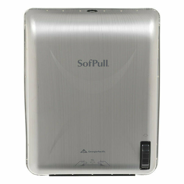 Georgia Pacific SofPull Recessed Mechanical Towel Dispenser Stainless Steel