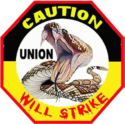 Union Stickers Hard Hat Stickers Hardhat Stickers Cu-9a