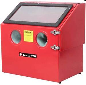 BRAND NEW - SAND BLAST CABINET & 2 10KG BUCKETS GLASS GRIT Redlynch Cairns City Preview