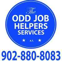 The Odd Job Helpers Services A.T. Concrete