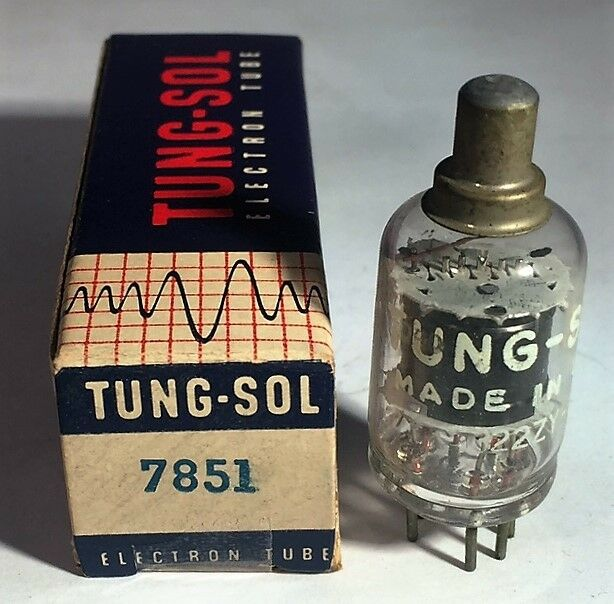 7851 Tung-Sol Vacuum Tube NOS NIB Tested Strong (More Available
