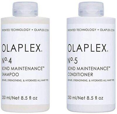 OLAPLEX No 4 No 5 Bond Maintenance Shampoo Conditioner 250ml