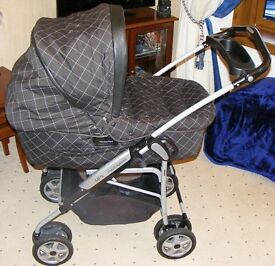 Pram, Stroller, Car Seat, Child Seat, Complete Set, Mammas & Papas All In One System, + accesories