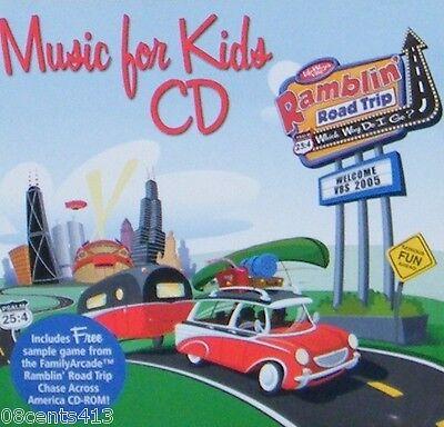 VBS Music for Kids (6 Song CD)