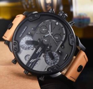 Montre diesel big daddy authentic brand new in box