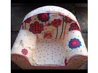 Girls Child / Toddler Softchair, Armchair,