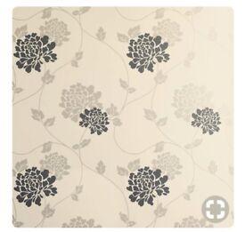 5 rolls Laura Ashley Wallpaper