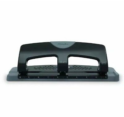 P14 Swingline 3-hole Punch Smarttouch Low Force 20 Sheet Punch Capacity