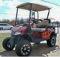 EZGO RXV.Montee  2014; voiturette GOLF CART CUSTOM 4 Pers.