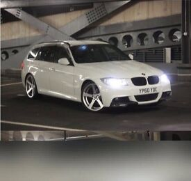 BMW 3 SERIES 318D M SPORT BUSINESS EDITION TOURING SAT NAV FULL 335 REP DAMAGED REPAIRED CAT D