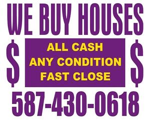 ™ We Buy Houses! **Quick, Easy, Cash Offer**