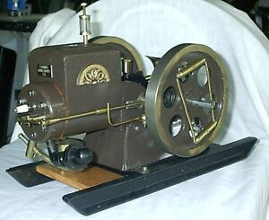 HANDCRAFTED MODEL STOVER FARM ENGINE (WORKING)