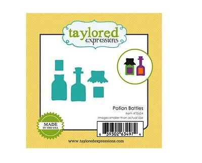 Taylored Expressions Little Bits Die(s) Set ~ POTION BOTTLES  Halloween ~TE654 - Halloween Expressions