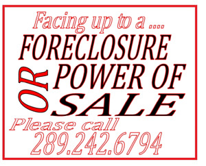 STOP Foreclosure STOP Power Of Sale