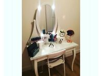 Ikea Dressing Table & chair