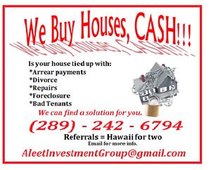 We BUY Houses CASH!!!