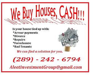 We Buy Houses, CASH