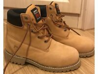 Timberland Pro Series worker boots size 4