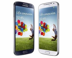 SAMSUNG GALAXY S4 WHITE BLACK FACTORY UNLOCKED SMARTPHONE WITH WARRANTY