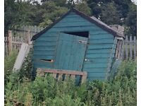 Shed and garage clearances can also dismantle