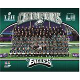 Philadelphia Eagles 2017 Super Bowl LII Champions Sit Down 8x10 Team Photo