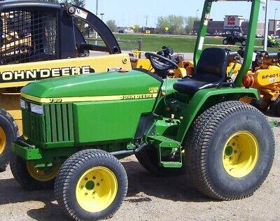 John Deere 790 Compact Tractor Service Repair Technical Manual Tm2088 Pdf