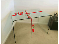 Pure Glass High Quality Computer/Office Table