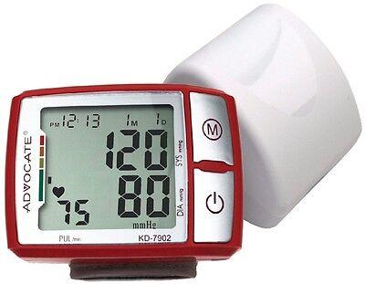Advocate Wrist Blood Pressure Monitor Automatic KD-726 7902