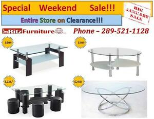 Ashley Coffee table, dining set on SALE!!!!!!!!!!!!!!!!