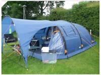 Sendairo 5 air tech 4 berth inflatable tent