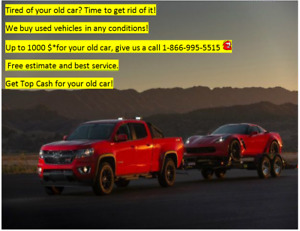 Best Price for your old car! Call now and get CASH!