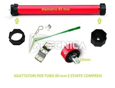 Motor Para Persianas 60KG 30 NM 220V Automatización Cortinas Sol Y Enrollable