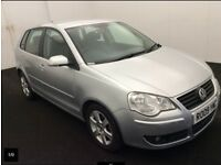 VW Polo Automatic 1.4 Match 5dr, Full service history, 1 year Warranty included